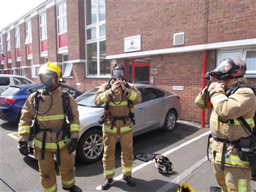 BA exercise with GMFRS