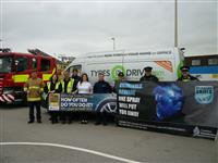 Firefighters working with partners to deliver safety messages