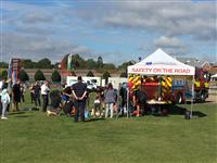The Cheshire Fire and Rescue Service stand at Active Cheshire in Cheshire
