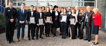 Young people from Winsford graduate in style from Prince's Trust Programme
