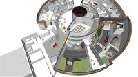 Artists impression of the internal layout of the new safety centre