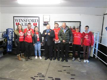 Prince's Trust team revamp Winsford boxing club