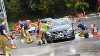 Charity car wash at Stockton Heath fire station