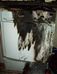 Tumble dryer fire in Warrington