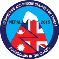 Cheshire Fire Cadets Nepal logo