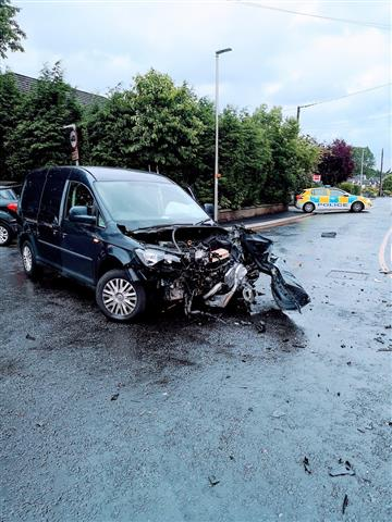 Collision in Alsager