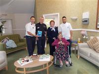 Charlie Watch visits residents during older person's week