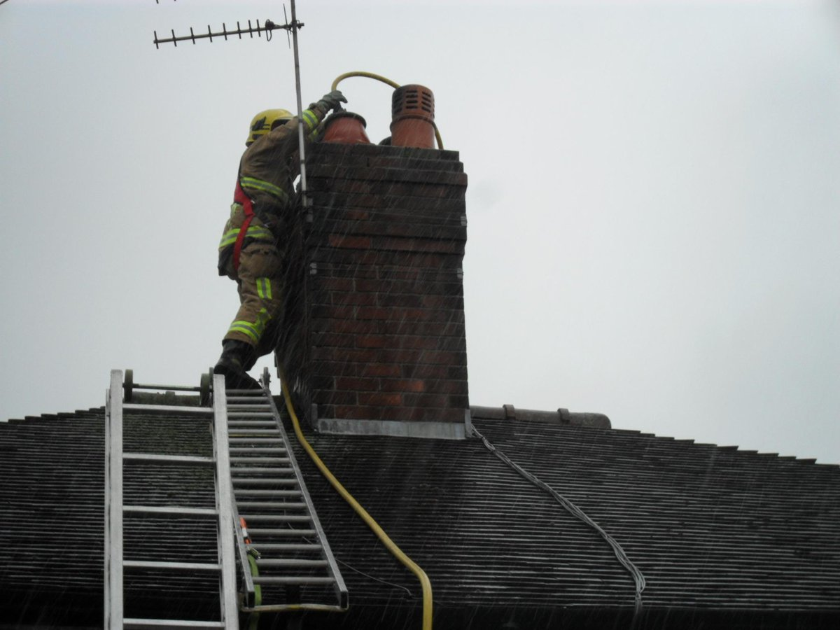 Get Your Chimney Swept Before Winter Urge Firefighters