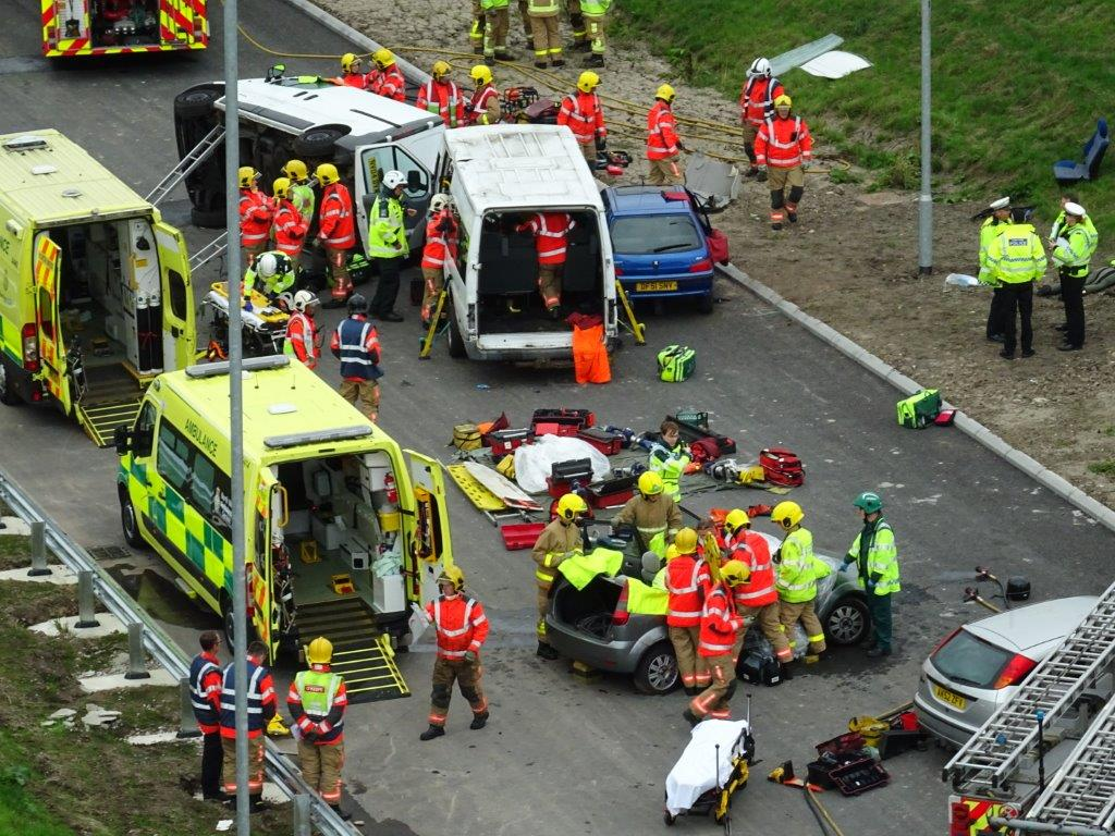 emergency services lifesaving role play