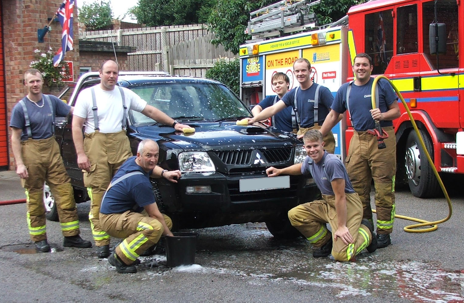 Firefighters Charity Car Wash