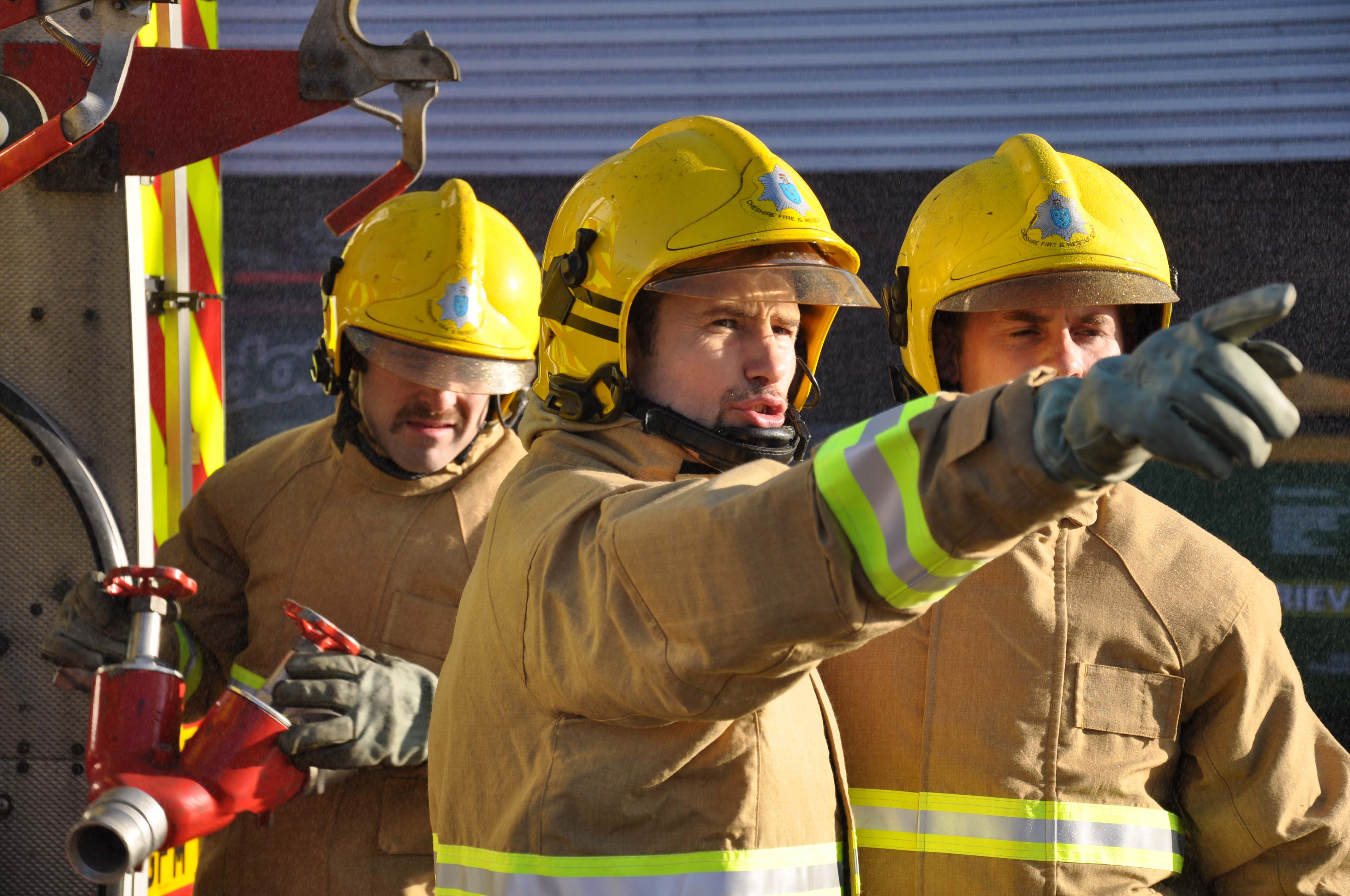 On-call firefighter recruitment open day at Macclesfield ...