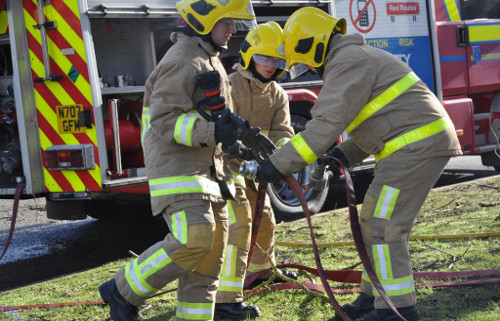 Wholetime firefighter recruitment