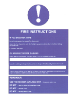 Fire Instruction Notices