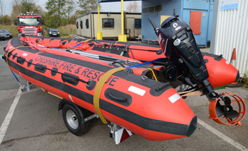 The SIT ResQcraft 5000 inflatable rescue boat