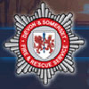 The Devon and Somerset Fire and Rescue Service Badge