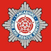 The Lancashire Fire and Rescue Service Badge