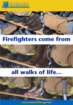 Firefighters come from all walks of life