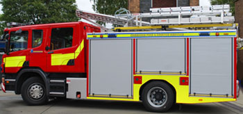 Scania CP31 fire appliance