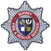 The Surrey Fire & Rescue Service Badge