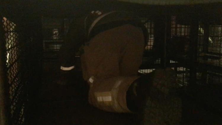 Enclosed space exercise