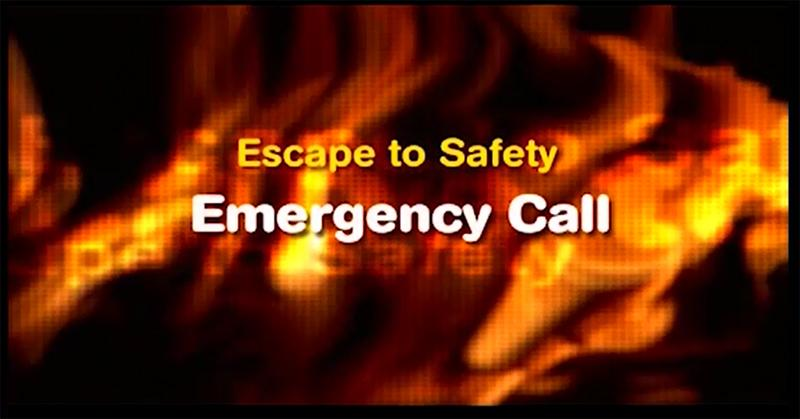 Escape to safety - Emergency call