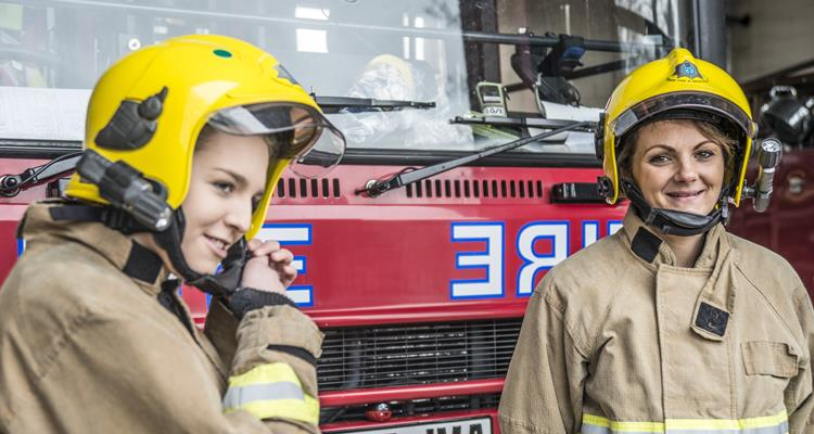 Two on-call firefighters in Cheshire
