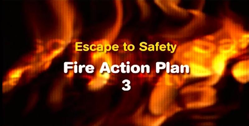 Escape to safety - fire escape plan 3