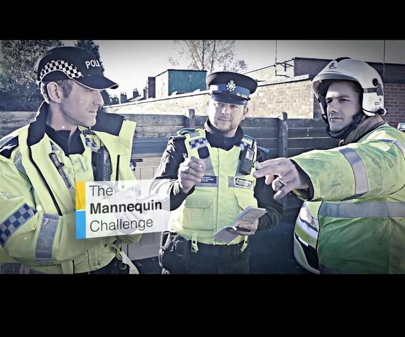 Mannequin challenge,  Don't drink and drive !