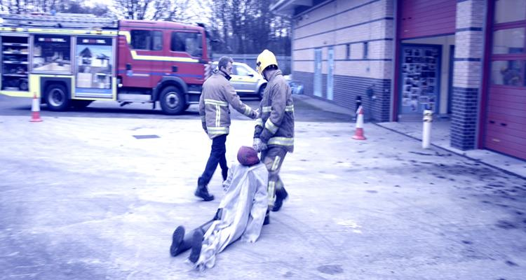 Casualty evacuation exercise