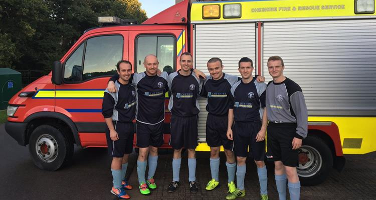 Cheshire Fire and Rescue Service football team